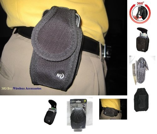- Nite Ize Cargo Heavy Duty XX-large Black Extended Holster Pouch Fits T-mobile LG Optimus L90 D405 D415/ L70