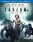 The Legend of Tarzan (Bilingual) (3DBD + BD + DVD + UV Digital Copy) [Blu-ray]