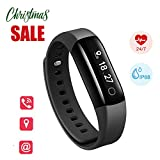 Fitness Tracker with Heart Rate Monitor, Sleep Tracker, Lifesense Waterproof Activity Tracker with Step Calorie Distance Counter, Multifunctional Fitness Watch For Android and IOS Smartphone