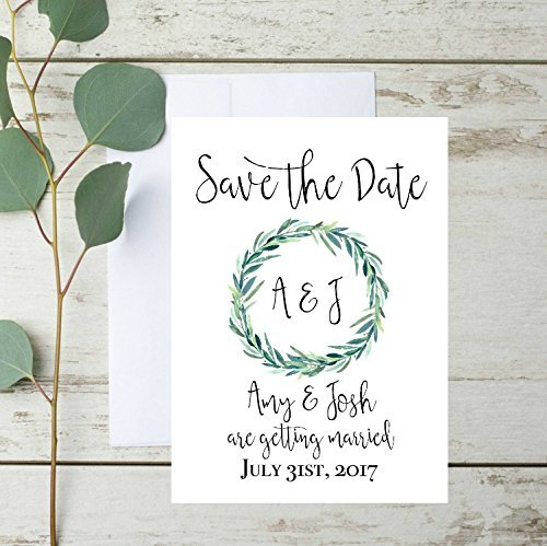 Amazoncom Rustic Save The Date Cards Rustic Save The Date - Rustic save the date templates