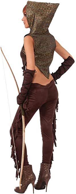 Signore Medievale FANTASY Elfo HUNTER Costume Medievale Costume Cosplay
