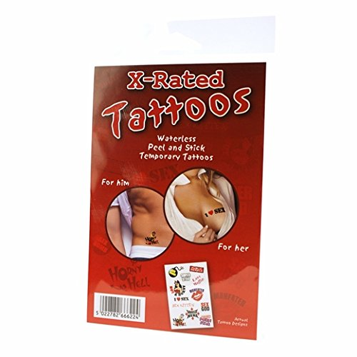 Rated xxx temporary tattoos