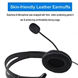 PS4 Xbox One Unilateral Traffic Headset, Joso 3.5mm Wired Gaming Headphone Online Chat One Ear Headset Headphone with Mic for PS4, PS4 Pro, PS4 Slim, Xbox One, Xbox One S, Xbox One X, Nintendo Switch