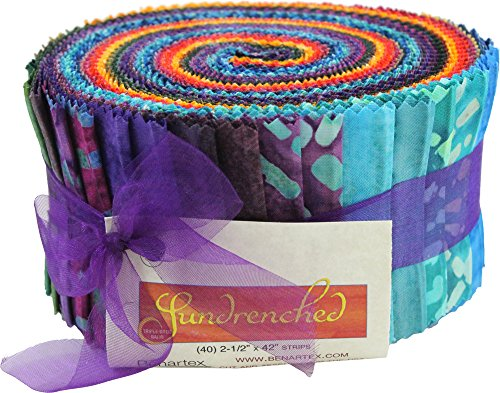 quilting jelly rolls batik - 3