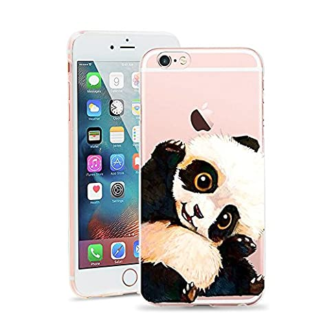 iPhone 6 Case, JICUIKE Cute Animal Print Ultra Slim Premium TPU Soft Shell Gel Rubber Silicone Transparent Protective Skin Back Cover for iphone 6s cases 4.7 inch [Lovely (Iphone 6plus Disney Animal Cases)