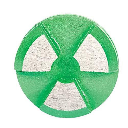Scanmaskin Round Rap Metal Bond Diamond Tooling, 60 Grit, Green