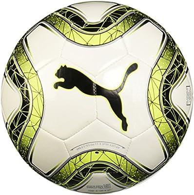 Puma Final 6 MS Trainer balón de fútbol, 4, Puma White/Lemon Tonic ...
