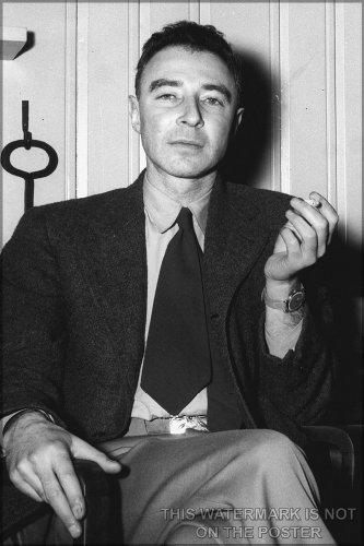 20X30 Poster  J  Robert Oppenheimer At The Guest Lodge  Oak Ridge  C  1946