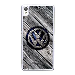 Volkswagen Car Logo For Cell Phone Case Sony Xperia Z3 White Case Cover W13W7031460