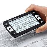 "MeterTo Portable Video Magnifier 4.3"" 6x-16x Low Vision Aids Digital Video Magnifier 12 Color Modes"