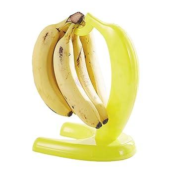 Banana percha, hulisen plástico Banana árbol soporte con gancho