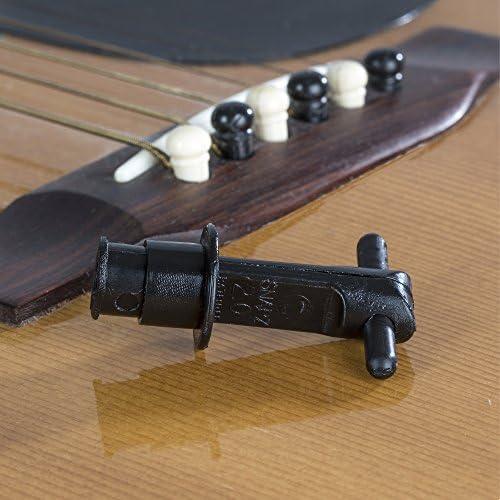 ✈ Snapz 2.0 Acoustic Guitar Bridge Pin Puller For 6 /& 12 String Guitars Musical