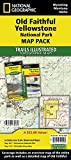Old Faithful, Yellowstone [Map Pack Bundle] (National Geographic Trails Illustrated Map)