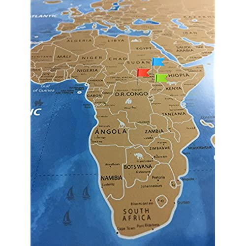 Best scratch off world travel map tracker usa states interactive best scratch off world travel map tracker usa states interactive country bonus 30 pcs flags gumiabroncs Image collections