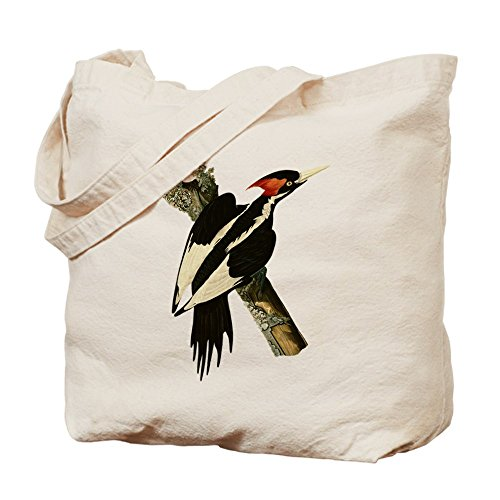 CafePress–Ivory-Billed Woodpecker–Gamuza de bolsa de lona bolsa, bolsa de la compra