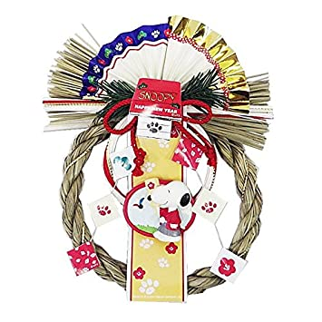 Amazon スヌーピー羽子板 83603 キャラクター 正月飾り 正月飾り