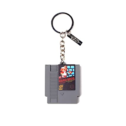 Amazon.com: Nintendo Cartridge 3D Rubber Pendant Keychain ...