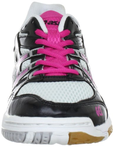 Asics Gel-Task Women's Indoor Court Shoes (B155N) Weiß (White/Black/Pink 0190) jvEbW