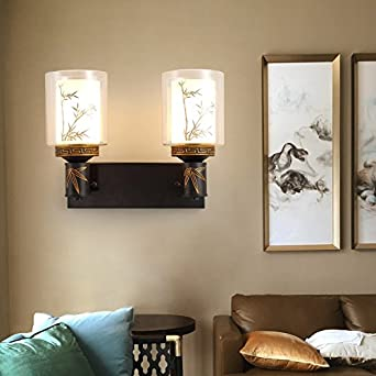 MDERTY Lámpara de pared moderna LED LED decoración luz escalera Pasillo de cabecera para la sala de estar, dormitorio, pasillo, luces decorativas para baños: Amazon.es: Iluminación