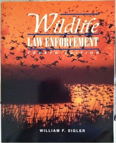 Download Wildlife Law Enforcement PDF, azw (Kindle)