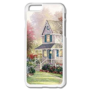 Fashion Case Customize Cool case covers Painting House For 3KpjWo5BRA6 plus IPhone 6 plus