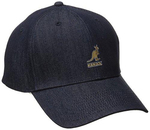 - Kangol Men's Denim Baseball, Indigo, Small/Medium