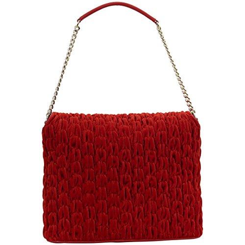 Bolsos de hombro Love Moschino Mujer - Tejido (JC4284PP04KJ0) Rojo