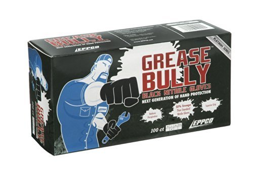 GREASE BULLY 6 mil Black Nitrile Gloves -XXL by - Grease Workshop