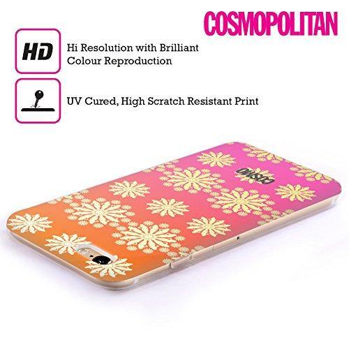 Official Cosmopolitan Ombre 5 Floral Patterns Soft Gel Case for Apple iPhone 5 / 5s / SE