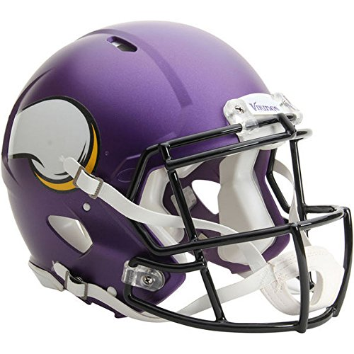 Minnesota Vikings Officially Licensed Speed Authentic Football Helmet by Riddell