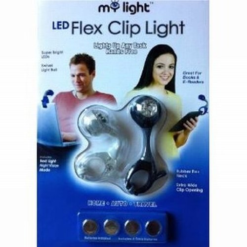 My Light Led Flex Clip Light