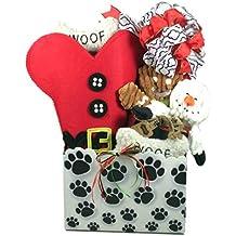 Santa Paws, Christmas Gift Basket For Dogs