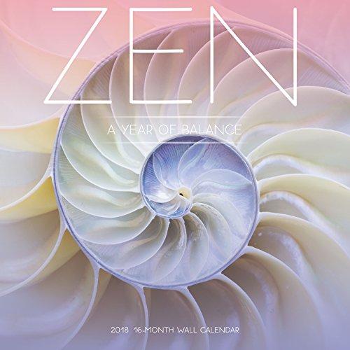Avalon 2018 Zen Wall Calendar - 16 Month Calendar - 12 x 12 inches (82368)