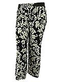 INC International Concepts Women's Elastic Waistband Pants (0X,Dream Lady)