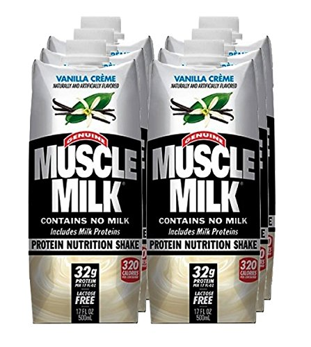 CytoSport Muscle Milk RTD - Vanilla Creme - 17oz - 6 bottles