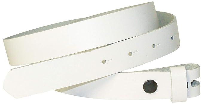 Fronhofer Ceinture échangeable de 2,5 cm, ceinture sans boucle, ceinture à  boutons c29c5cb9325