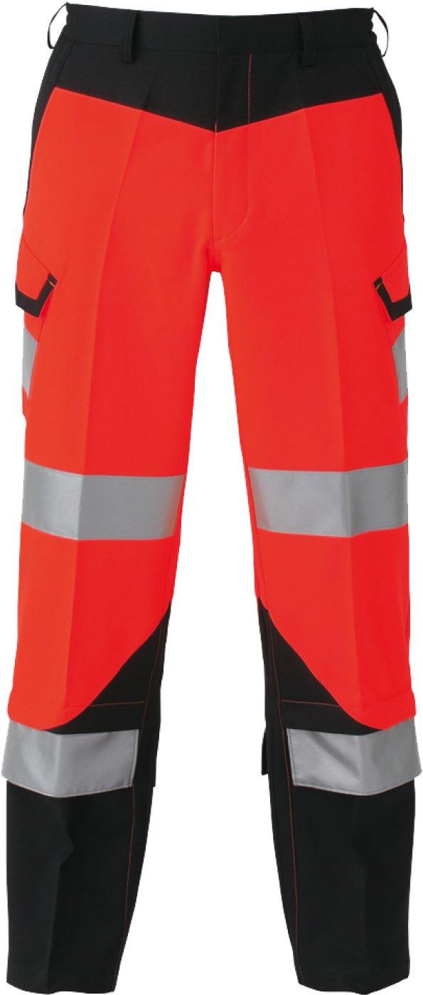 コーコス(CO-COS) 高視認性安全作業ズボン カーゴパンツ ワークパンツ cc-cs2415 B01MDNPWOU LL レッド
