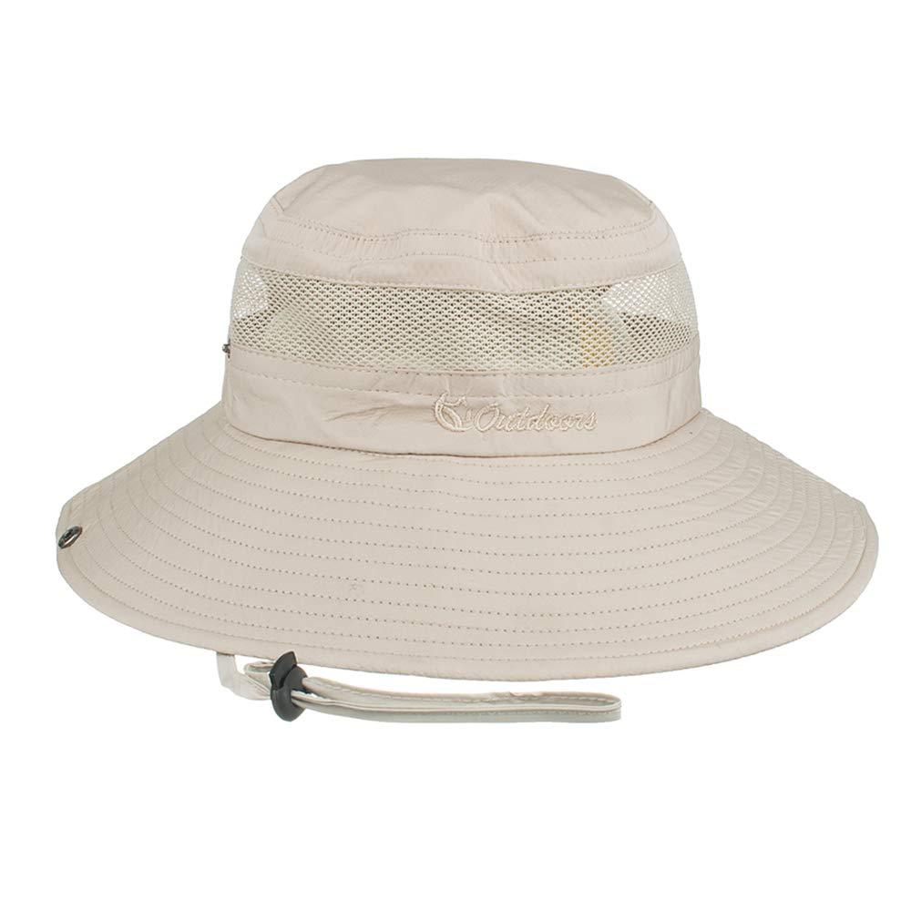 Outdoor UPF 50 Boonie Hat Mesh Summer Sun Caps for Men or Women