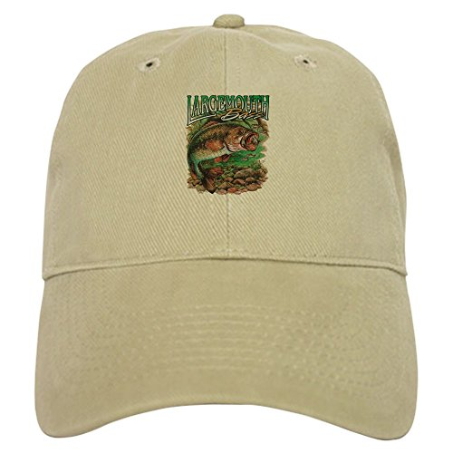 Royal Lion Cap (Hat) Largemouth Bass Fishing Fisherman - Khaki