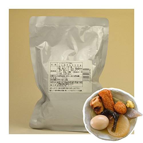 Japanese Food - Japanese Side Dishes Oden 400g X 3 Retort-pouch Packs(precooked Foods / Emergency Foods) by G7 Japan Foods Service