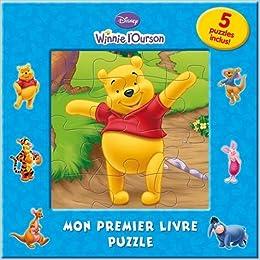 Winnie L Ourson Mon Premier Livre Puzzle 9782014632095