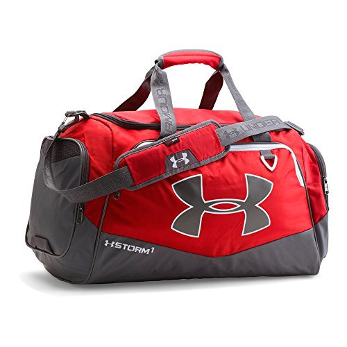 Under Armour Undeniable Duffle 2.0 Gym Bag, Red /White, - Mark Martin Merchandise