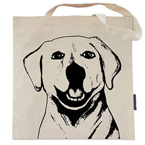 - Pet Studio Art Lewis The Labrador Tote Bag Beige