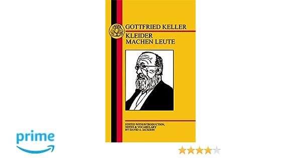 Amazon Com Keller Kleider Machen Leute German Texts