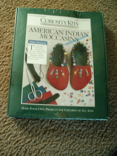 Curiosity Kits  American Indian Moccasins  make your own  age 7 and older