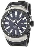 Invicta Men's 0666 II Collection Sea Scavenger GMT Black Dial Black Polyurethane Watch