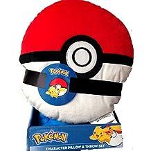 Pokemon Pokeball Character Pillow Blanket Set