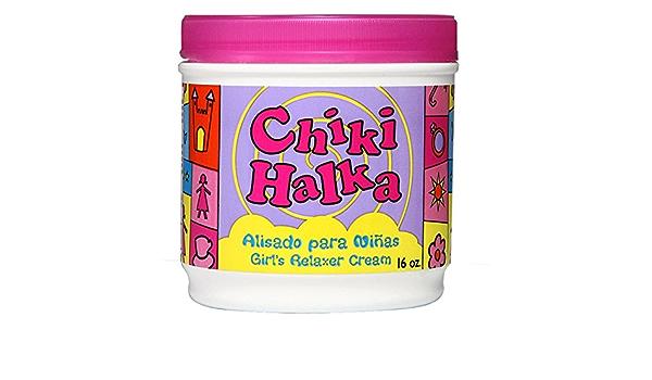angustia reinado temblor  Amazon.com: Chiki Halka Hair Relaxer crema para niñas: Beauty
