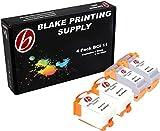 4 Pack Blake Printing Supply BCI11 Ink Cartridges Canon BJC-50 BJC-55 BJC-70 BJC-80 BJC-85 BJC-85W LR1 PrintStation Apple Color Stylewriter 2200