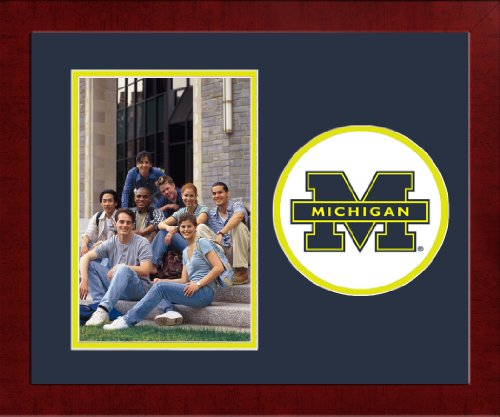 NCAA Michigan Wolverines University Spirit Photo Frame (Vertical)